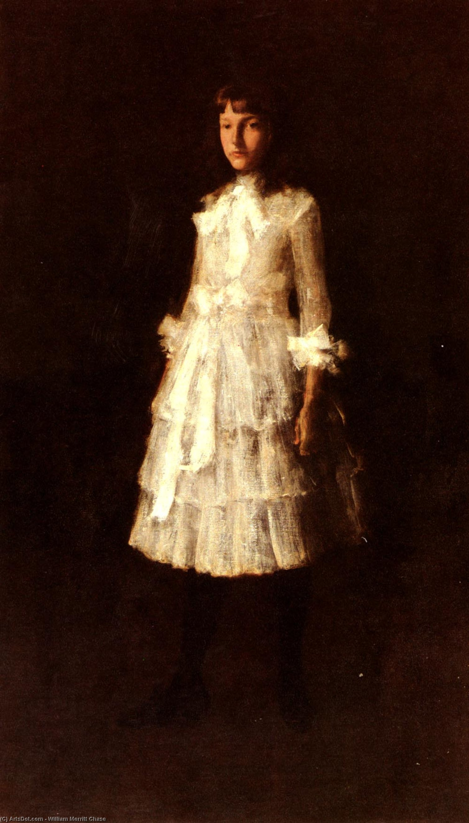 , холст, масло по William Merritt Chase (1849-1916, United States)