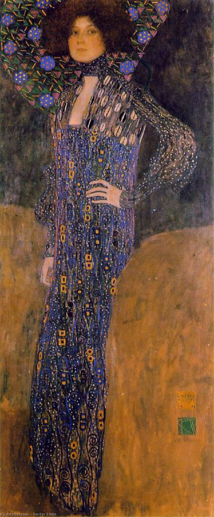 a biography of the austrian painter gustav klimt