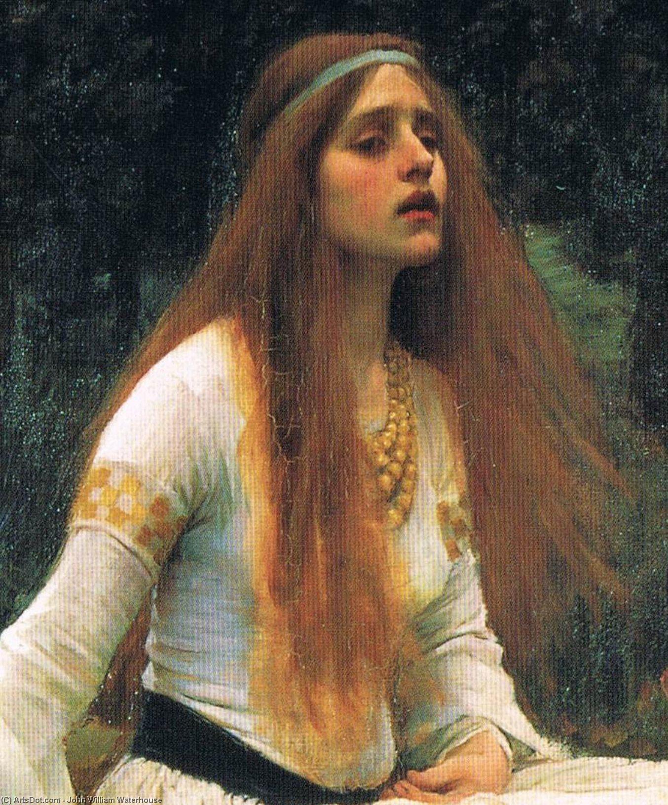 Уотерхаусофелия,о,нимфа,помяни меня в своих молитвах