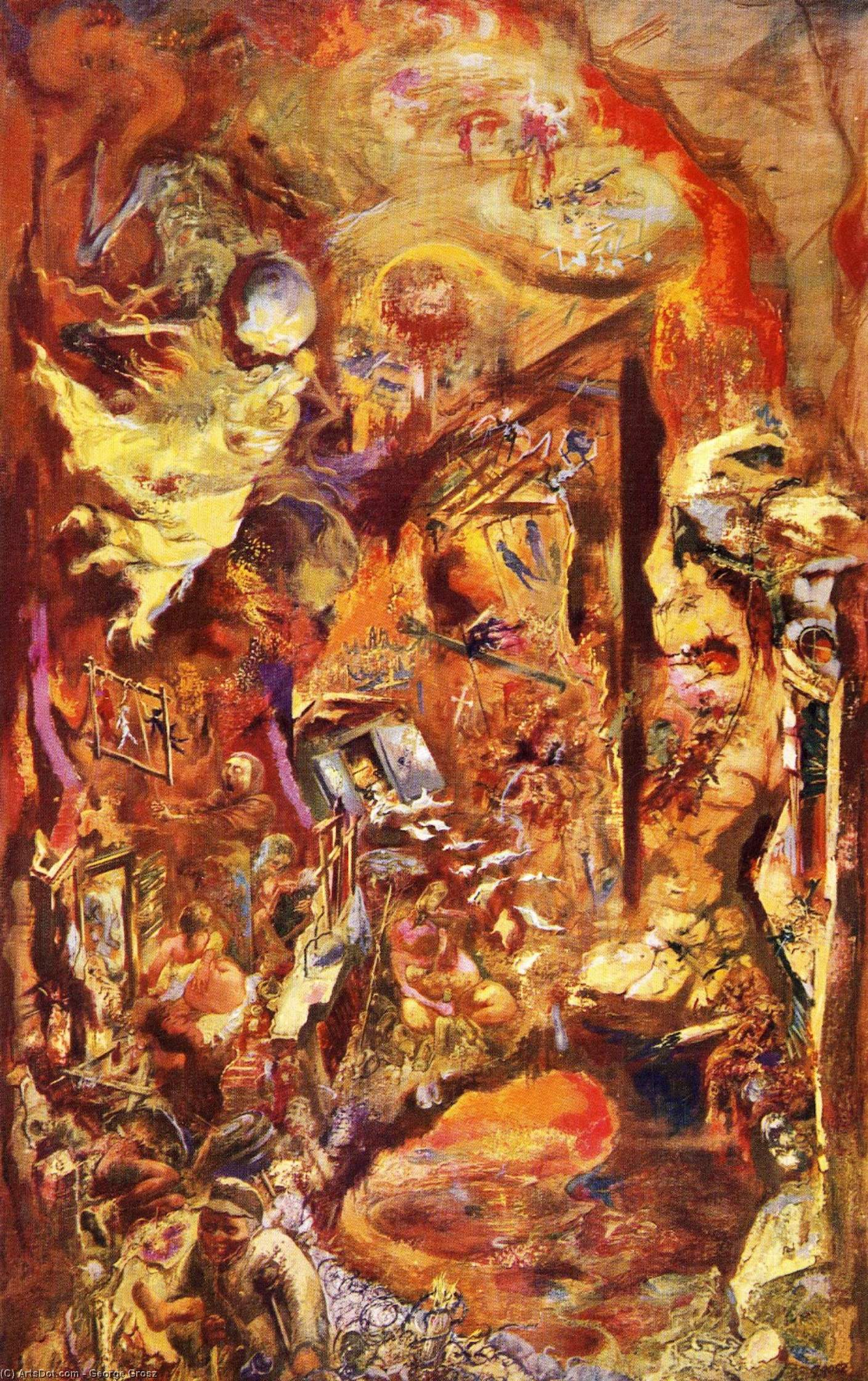 the work of german artists george grosz and otto dix in post world war i germany Aftermath: art in the wake of world war one 150 works from 1916 to 1932 by artists including george grosz  george grosz's grey day 1921 and otto dix's.