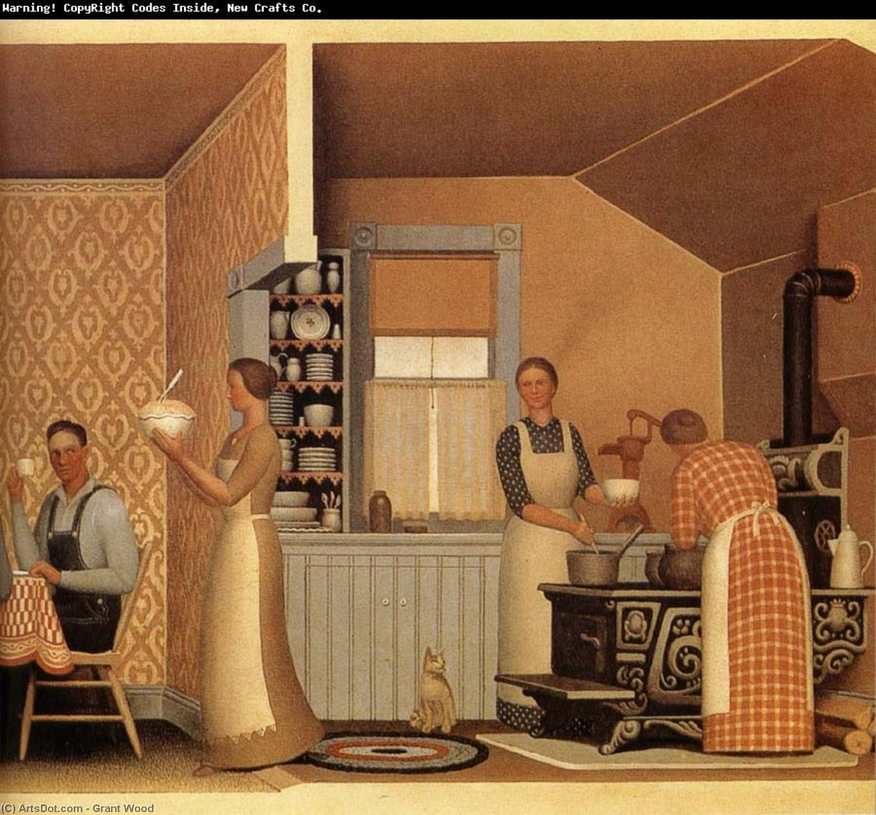 a look at the life and times of american regionalist painter grant wood