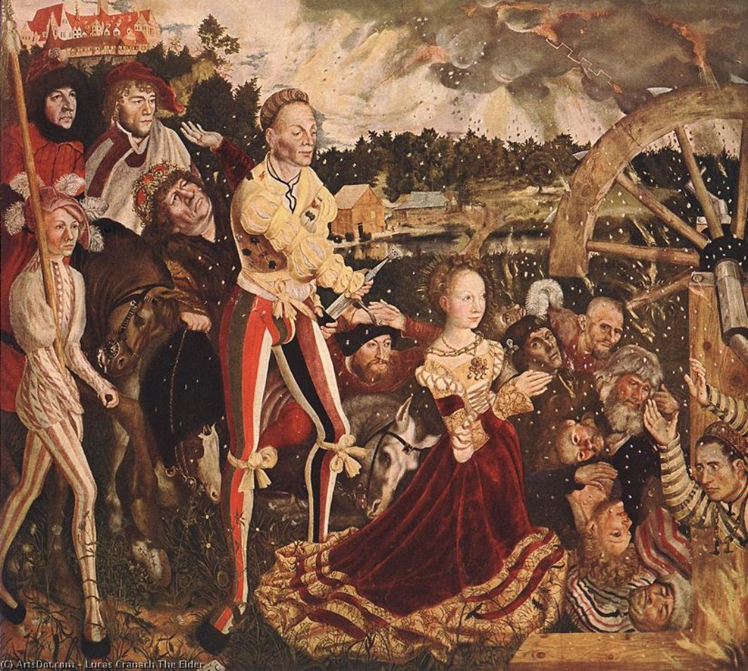 без названия 7205   по Lucas Cranach The Elder (1472-1553, Germany)