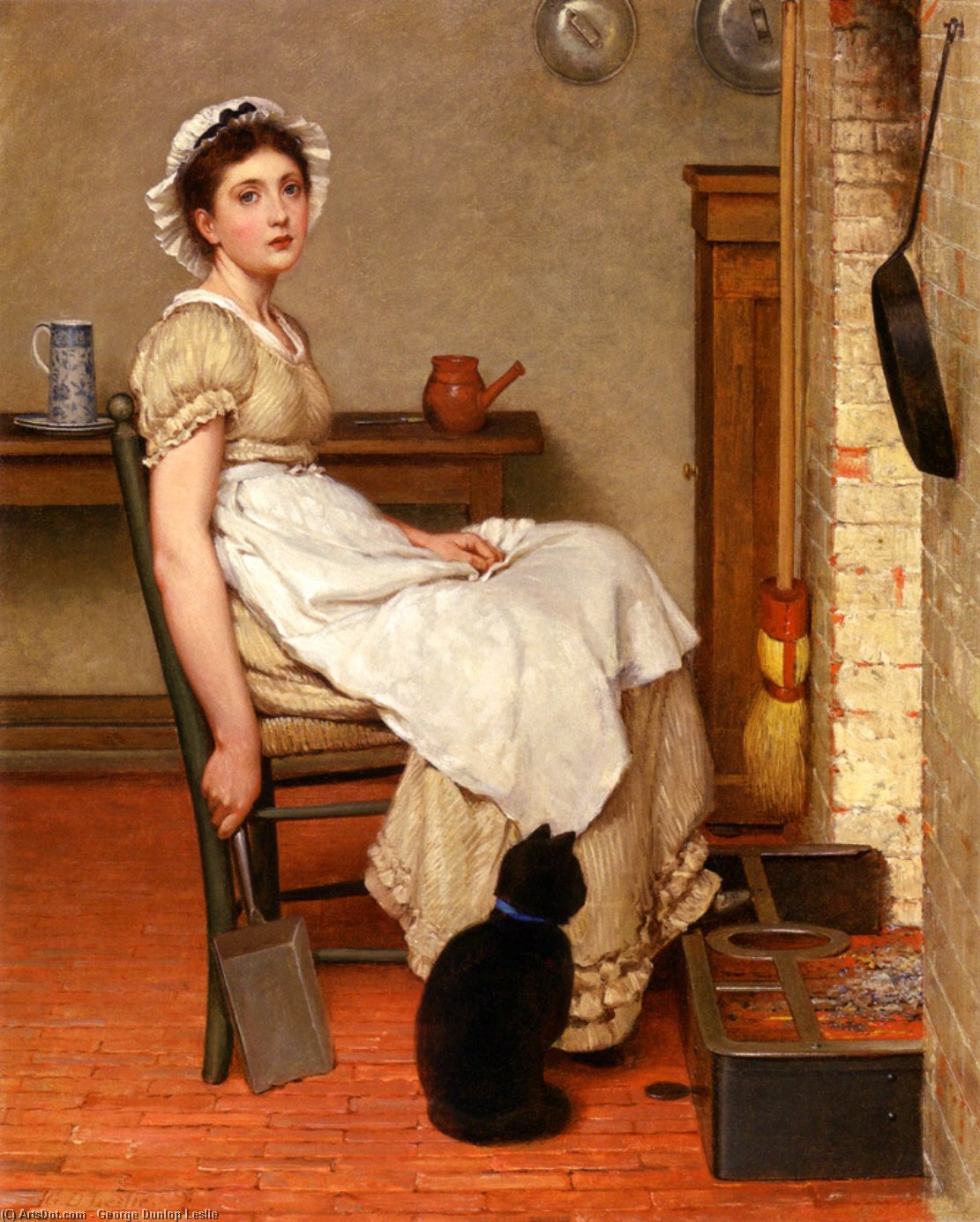 ее первый место  по George Dunlop Leslie (1835-1921, United Kingdom)