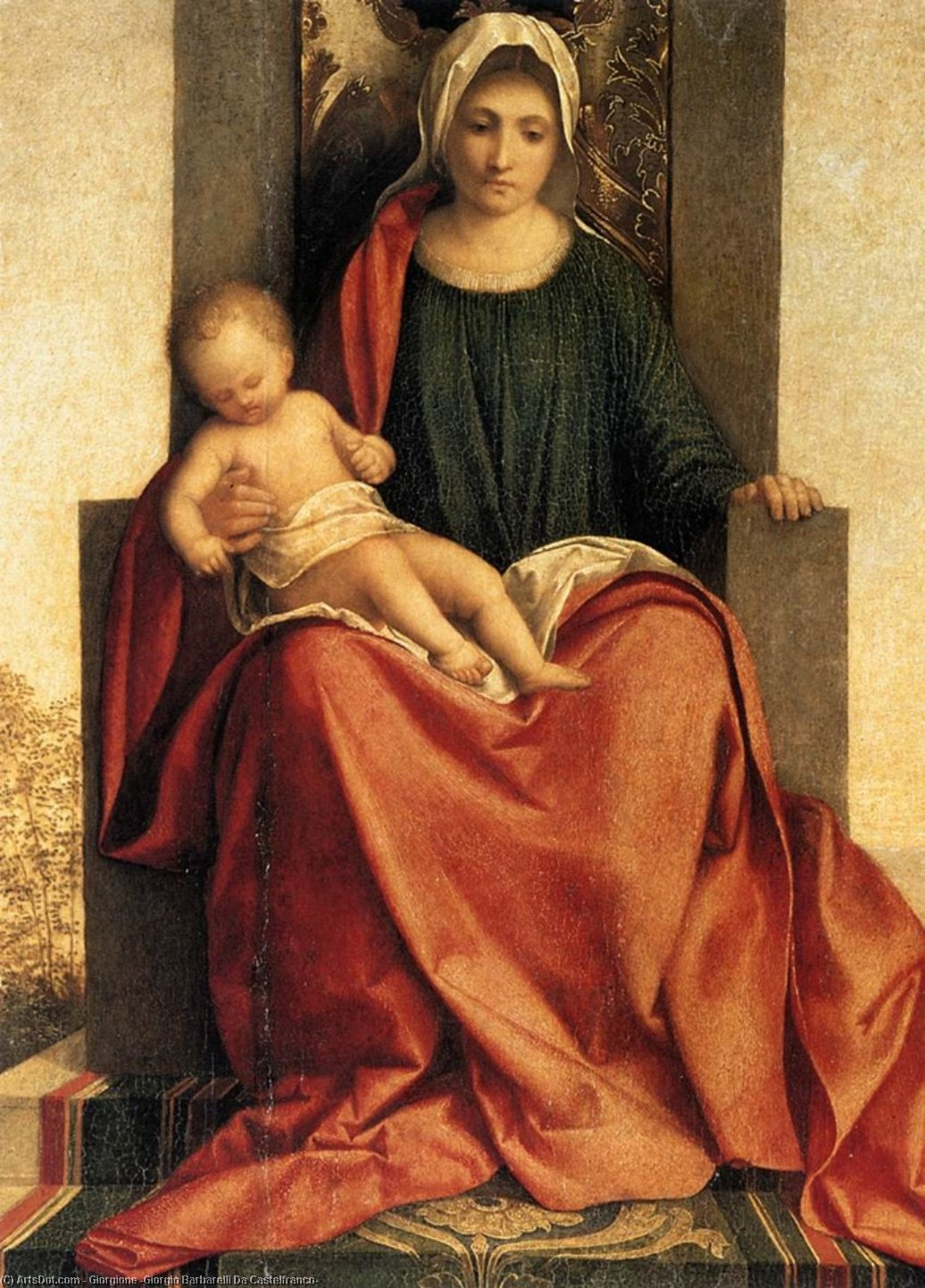 a biography of giorgio da castelfranco Giorgio da castelfranco, known as giorgione, was born in castelfranco veneto perhaps in 1477 there is so little information on his life that it is impossible to say much.