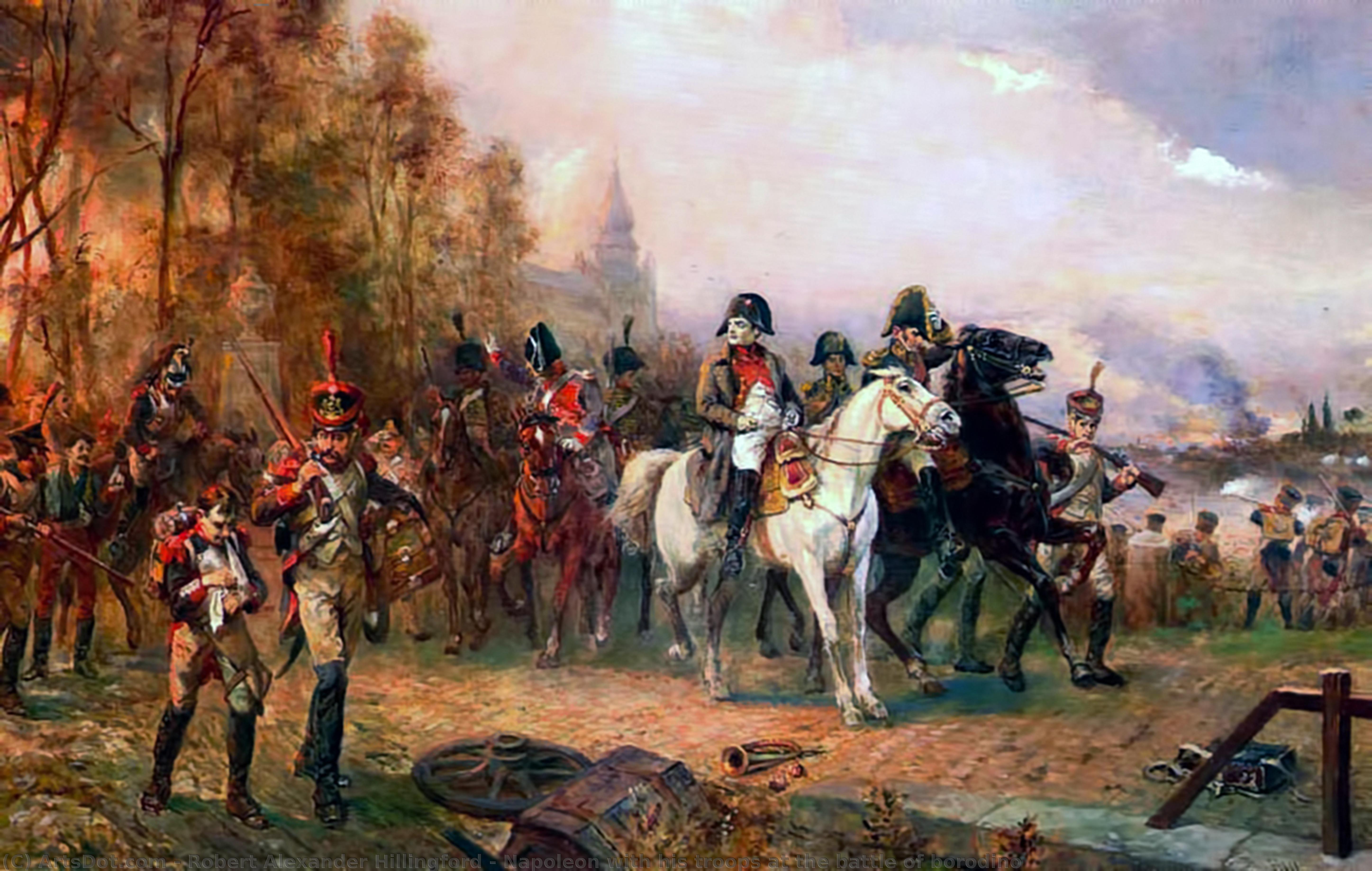 истории бородинское сражение в картинах художников лампой уже