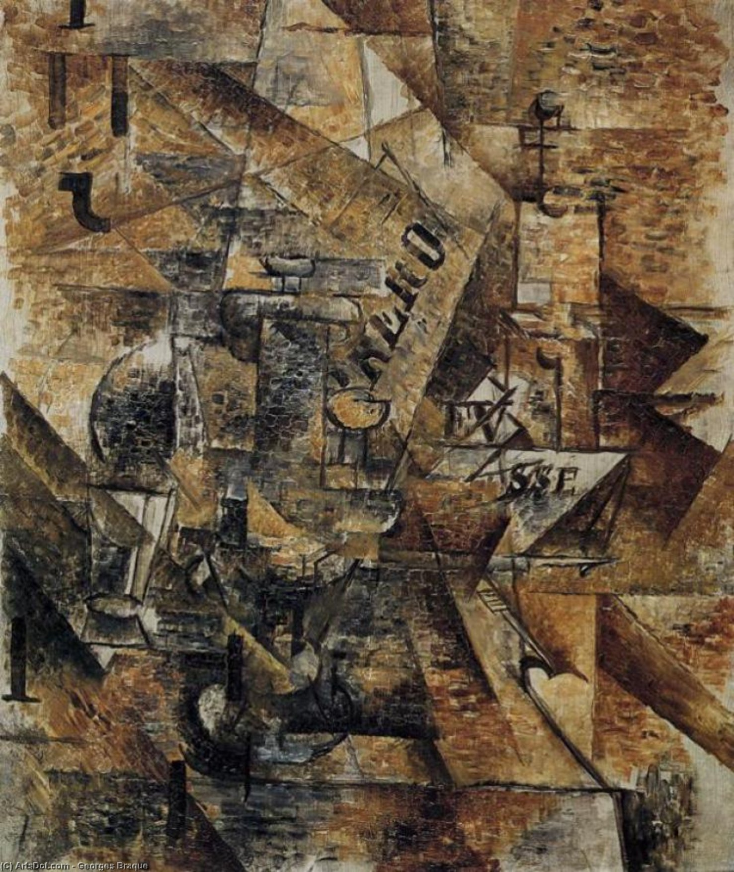 life and work of george braque Georges braque developed his painting he moved to paris in 1900 to study where he was drawn to the work of the the still life subject remained his chief.