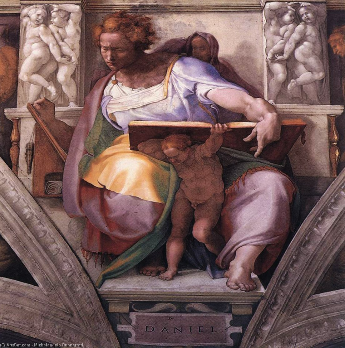 a biography of the italian artist michelangelo buonarrati