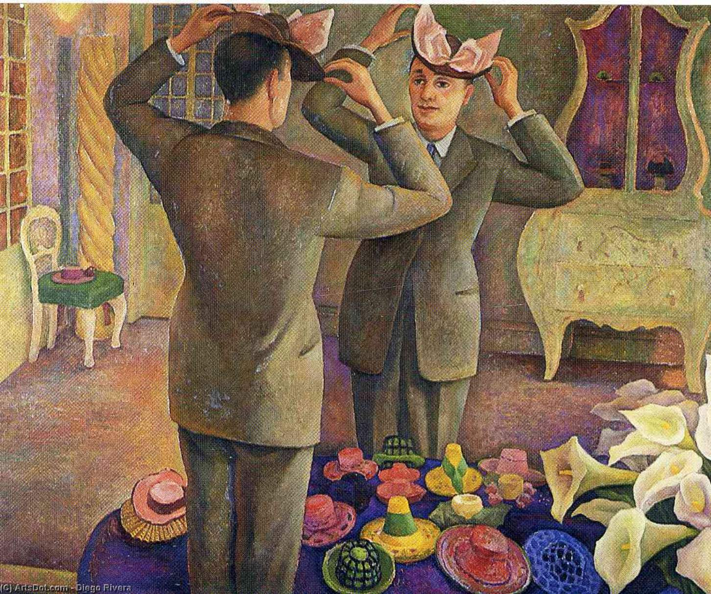 Безымянный 2721   по Diego Rivera (1886-1957, Mexico)