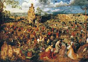 Pieter Bruegel The Elder - Несение креста