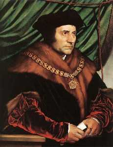Hans Holbein The Younger - Сэр Томас более