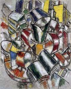 Fernand Leger - Контраст Forms
