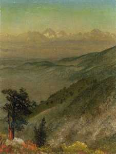 Albert Bierstadt - Wasatch Горы