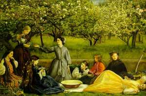 John Everett Millais - Apple Цветет Весна