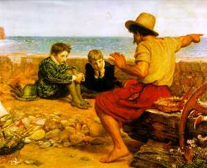 John Everett Millais - Отрочество Роли