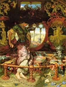 William Holman Hunt - Леди Shalott