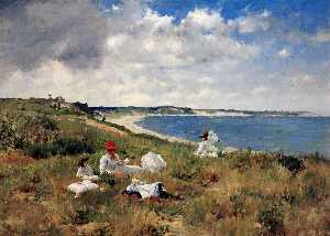 William Merritt Chase - Часы простоя