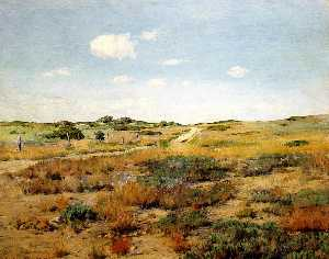 William Merritt Chase - Shinnecock Хиллз
