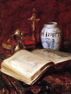 William Merritt Chase - старый книга