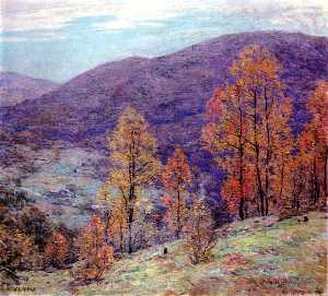 Willard Leroy Metcalf - Autum Слава