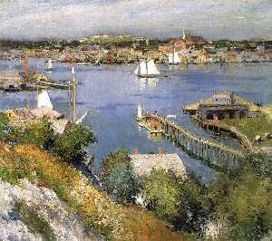 Willard Leroy Metcalf - глостер харбор