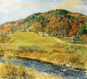 Willard Leroy Metcalf - Ноябрь Туман