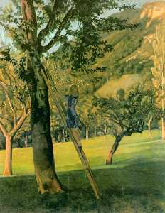 Balthus (Balthasar Klosso.. - Cherry Tree