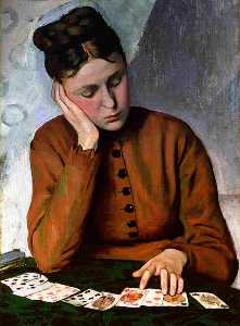 Jean Frederic Bazille - Гадалка