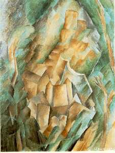 Georges Braque - Замок в Ла-Рош-Гийон