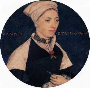 Hans Holbein The Younger - г жа Пембертон