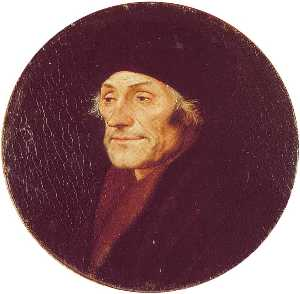 Hans Holbein The Younger - Эразм Роттердамский