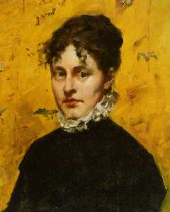 William Merritt Chase - Портрет тот Artist's Sister-in..