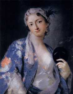 Rosalba Carriera - Портрет Феличита Сартори