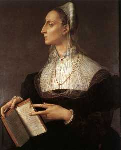 Agnolo Bronzino - Лаура Battiferri