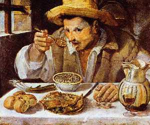 Annibale Carracci - Beaneater Солнце