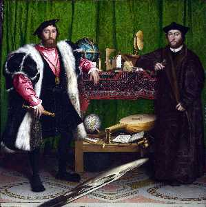 Hans Holbein The Younger - Послы