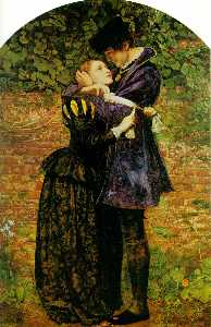 John Everett Millais -   Гугенот