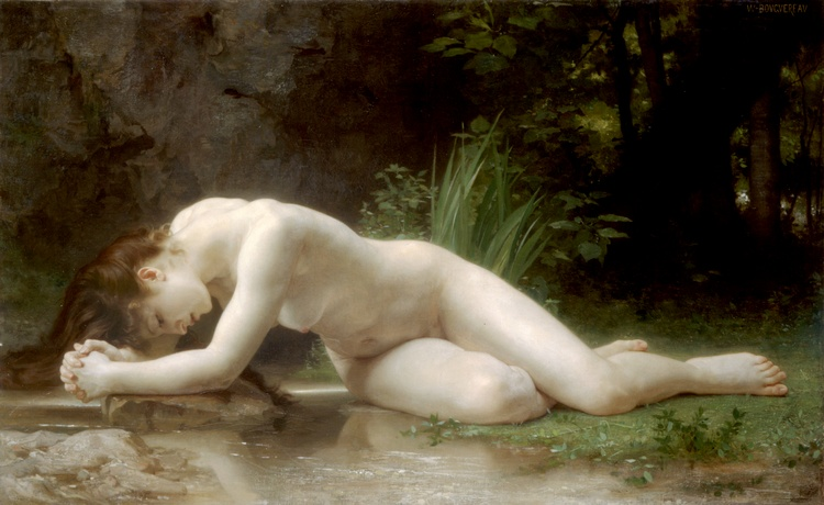 Biblis, 1884 по William Adolphe Bouguereau (1825-1905, France) | Репродукции Произведений Искусства William Adolphe Bouguereau | ArtsDot.com