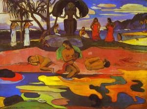 Paul Gauguin - Махана нет атуа дня  само..