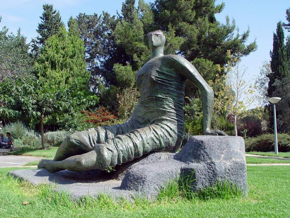 Draped Сидящая фигура по Henry Moore (1898-1986, United Kingdom)