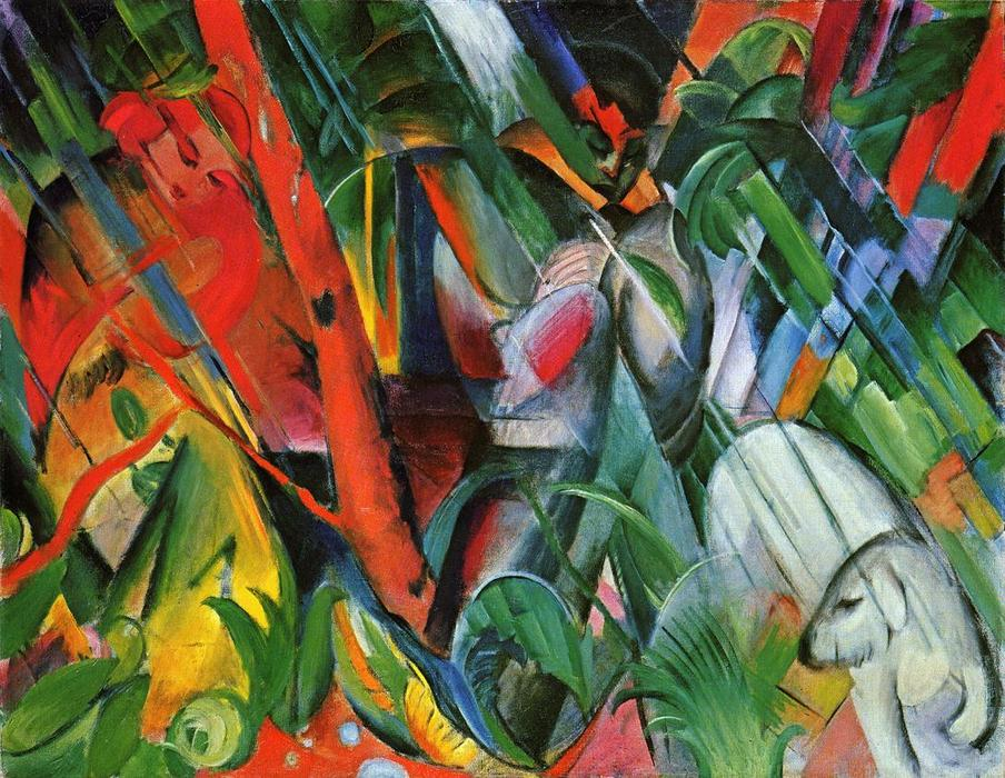influences of cubism impressionism expressionism and futurism in marcs work Futurism - the art movement primarily cubism and the flattening of pictorial space influenced futurism other influences were impressionism's urban subject.