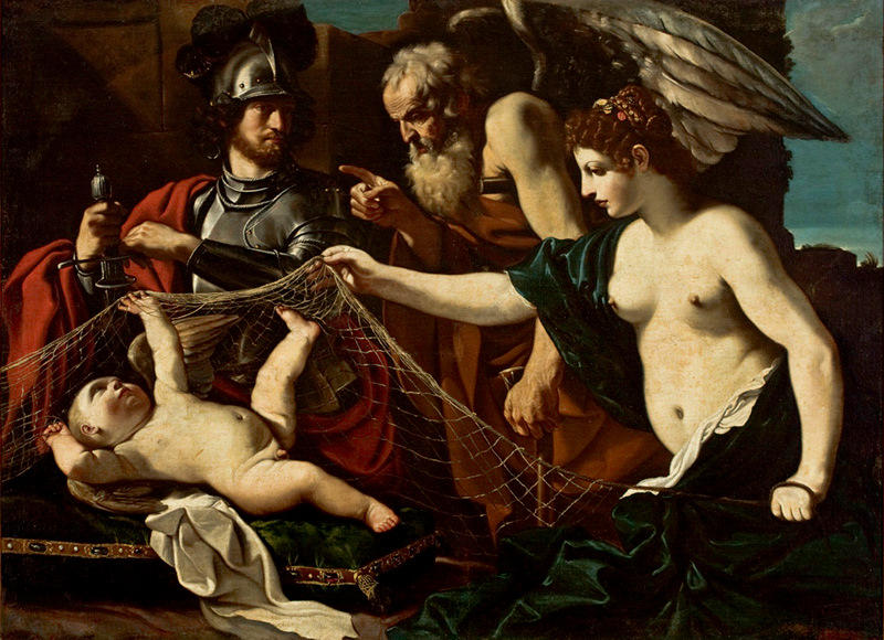 story of aphrodite and her son cupid and their place in greek mythology