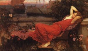John William Waterhouse - Ариадна