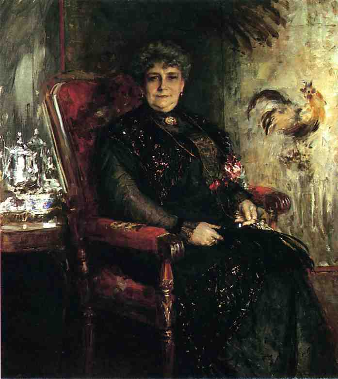 Получить Репродукции Музея : портрет мадам . Е . Час . Bensel, 1912 по William Merritt Chase (1849-1916, United States) | ArtsDot.com