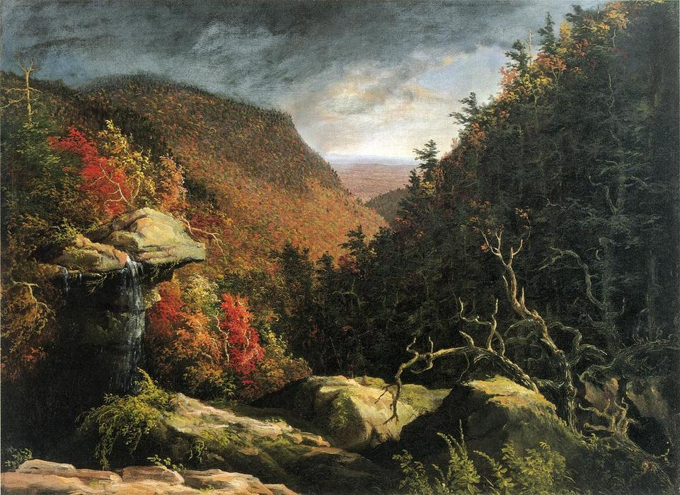 гвоздика , Catskills, холст, масло по Thomas Cole (1801-1848, United Kingdom)