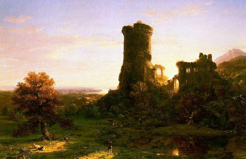 Настоящее, 1838 по Thomas Cole (1801-1848, United Kingdom)