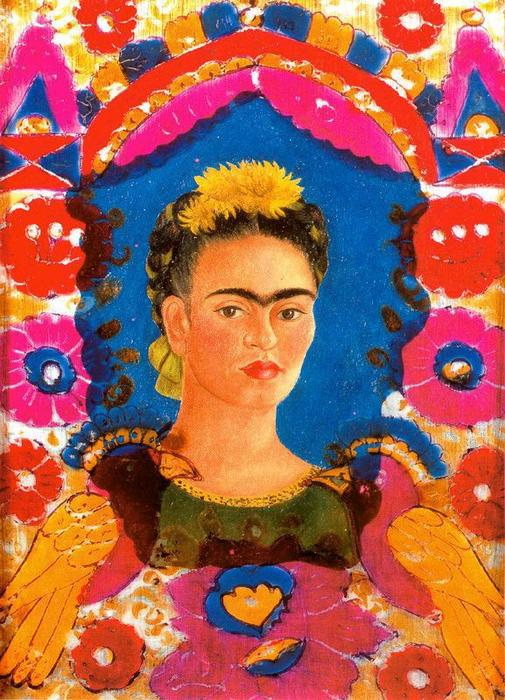 Self-Portrait 2 по Frida Kahlo (1907-1954, Mexico)