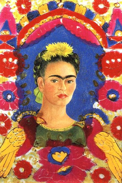 Рама, масло по Frida Kahlo (1907-1954, Mexico)