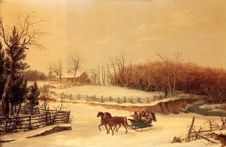Санках партии по Thomas Birch (1779-1851, United Kingdom)