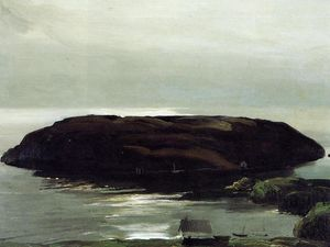 George Wesley Bellows - на острове в Море
