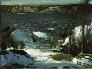 George Wesley Bellows - север Река